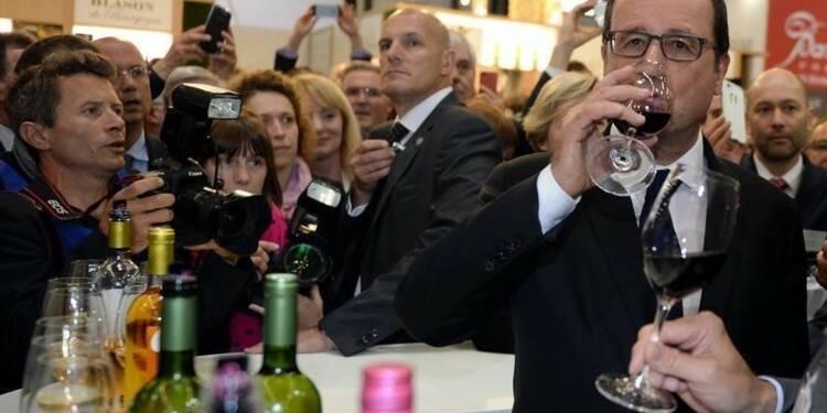François Hollande pour le respect des équilibres de la loi Evin