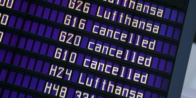 La grève continue à Lufthansa, 930 vols annulés mercredi