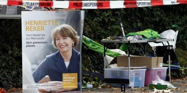 Agression xénophobe d'une candidate aux municipales à Cologne