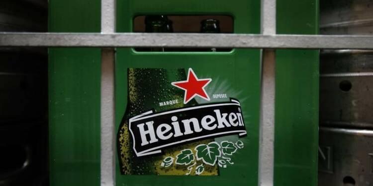 Heineken réorganise ses activités