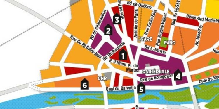 Immobilier : la carte des prix d'Orléans