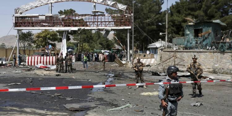 Attentat près de l'aéroport de Kaboul, cinq morts