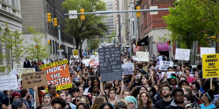 Manifestations contre les violences policières aux Etats-Unis