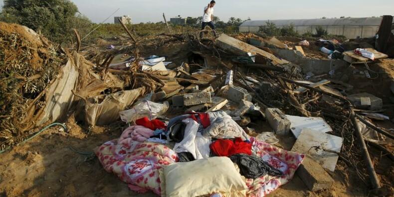 Un raid aérien israélien tue une femme et sa fille à Gaza
