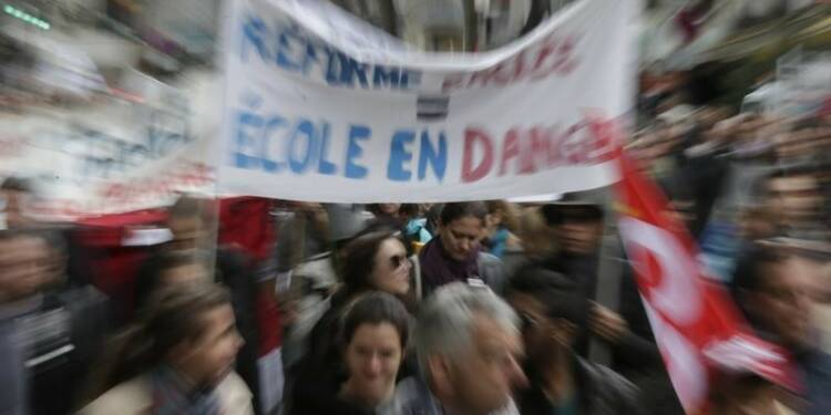 Mobilisation des enseignants contre la réforme du collège