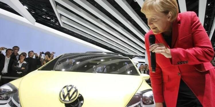 Merkel juge que la confiance dans l'économie allemande demeure