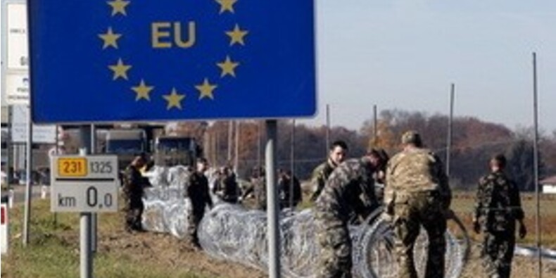 La Slovénie clôture une partie de sa frontière avec la Croatie