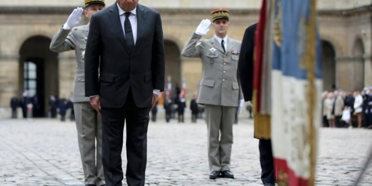 Juppé défend devant Hollande l'unité après les attentats