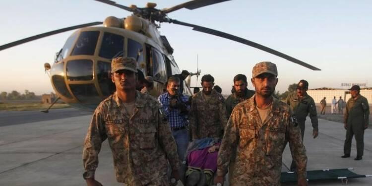Près de 350 morts dans le séisme en Afghanistan et au Pakistan