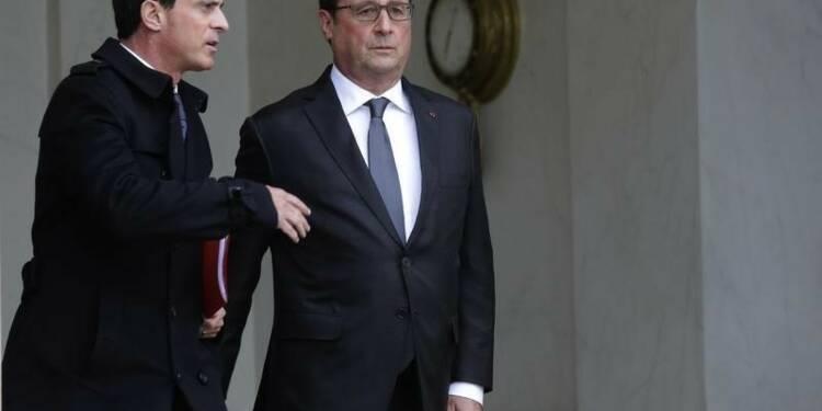"""Valls promet de répliquer """"coup pour coup"""" aux attaques de l'EI"""
