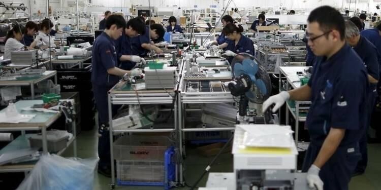 Hausse de l'activité manufacturière au Japon