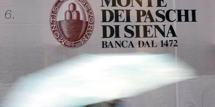Monte Paschi renoue avec les bénéfices mais reporte ses objectifs