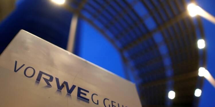 RWE déçoit au 1er semestre, difficultés en Grande-Bretagne