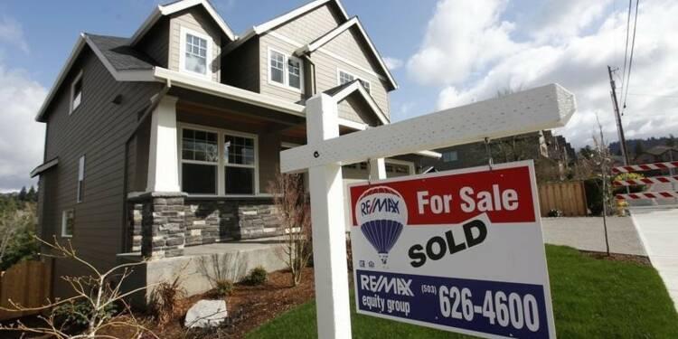 Les reventes de logements à un pic de plus de cinq ans aux USA