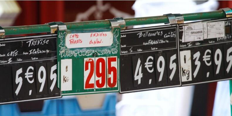 Le risque d'une entrée de la France en déflation se renforce