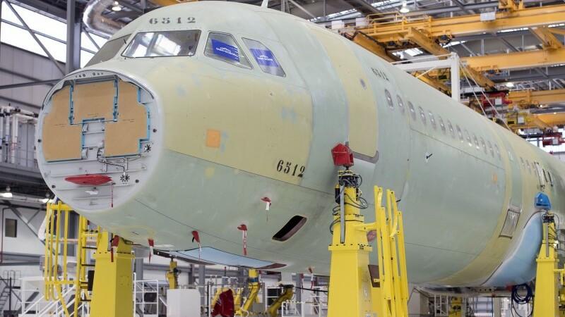 Airbus inaugure sa première usine d'assemblage aux Etats-Unis