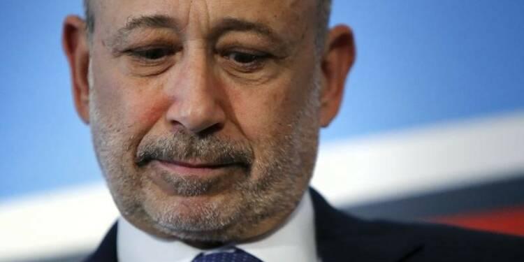 Le patron de Goldman Sachs annonce souffrir d'un lymphome