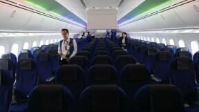 Zodiac handicapé par ses activités dans les sièges d'avion
