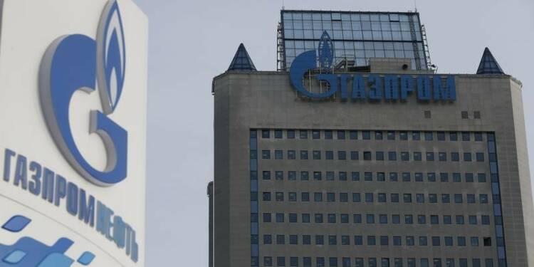 Gazprom a vu son bénéfice net fondre de 86% en 2014
