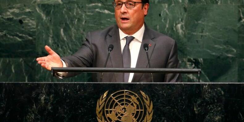 François Hollande redit à l'Onu que Bachar al Assad doit partir