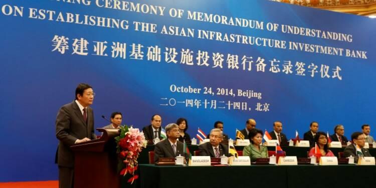 L'Iran rejoint l'AIIB comme membre fondateur