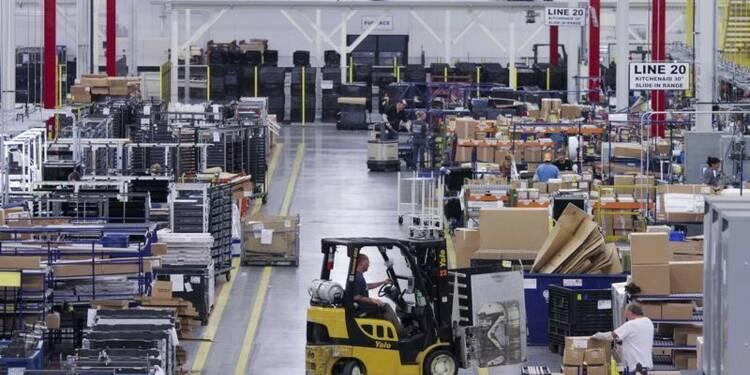 La croissance manufacturière a ralenti aux Etats-Unis, dit l'ISM