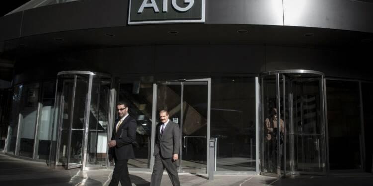 AIG voit son bénéfice trimestriel fondre