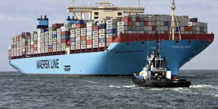 Le bénéfice trimestriel de Maersk baisse de près de moitié