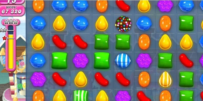Candy Crush ne fait pas recette, l'éditeur plonge en Bourse