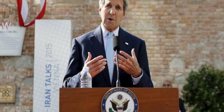 Les négociations avec l'Iran à la croisée des chemins, dit Kerry