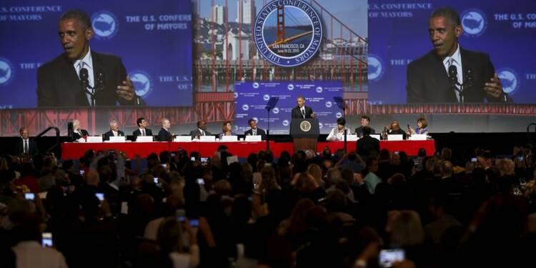 Obama prône à nouveau un contrôle plus strict des armes à feu