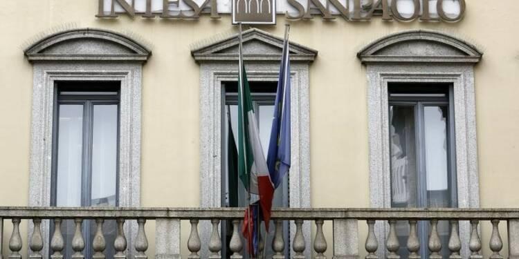 Recul du revenu net d'intérêts d'Intesa Sanpaolo au 3e trimestre