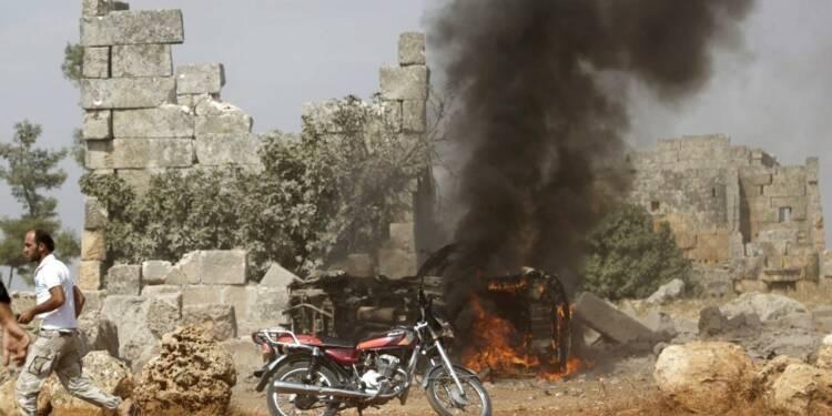Appel à l'arrêt des frappes russes contre l'opposition syrienne