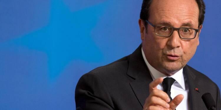 Prise de risque politique sur la Grèce payante pour Hollande