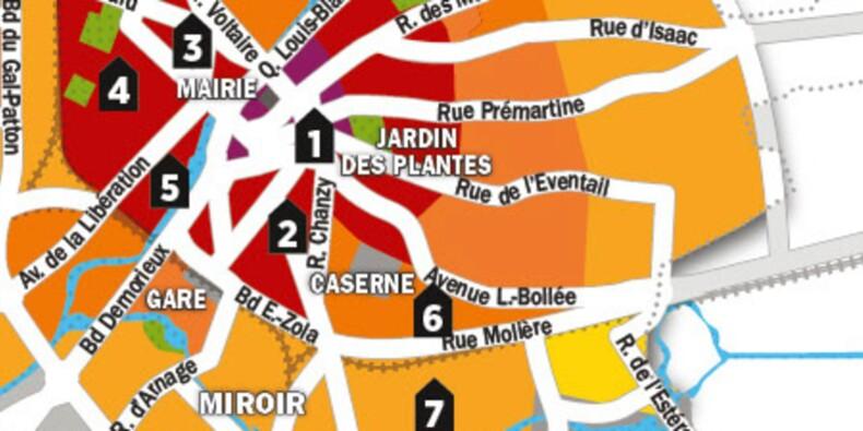 Immobilier : la carte des prix du Mans