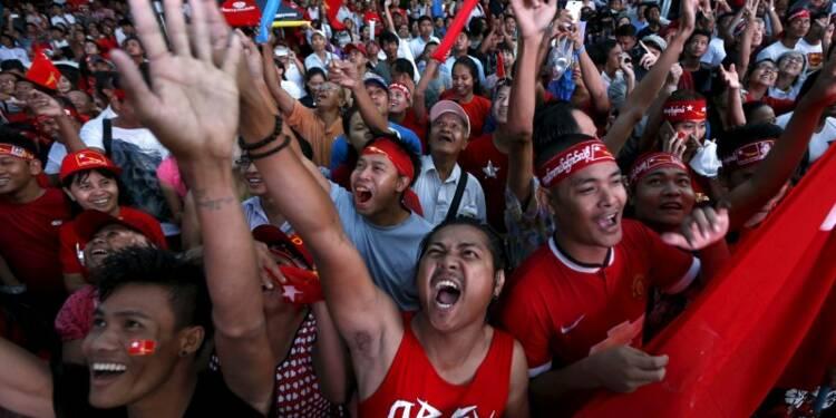 Aung Suu Kyi décidée à ne pas se laisser voler son triomphe