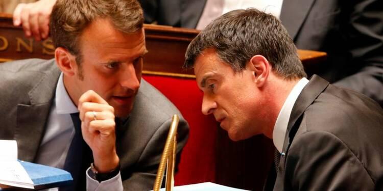 Loi Macron : Valls repasse en force, tollé à l'Assemblée