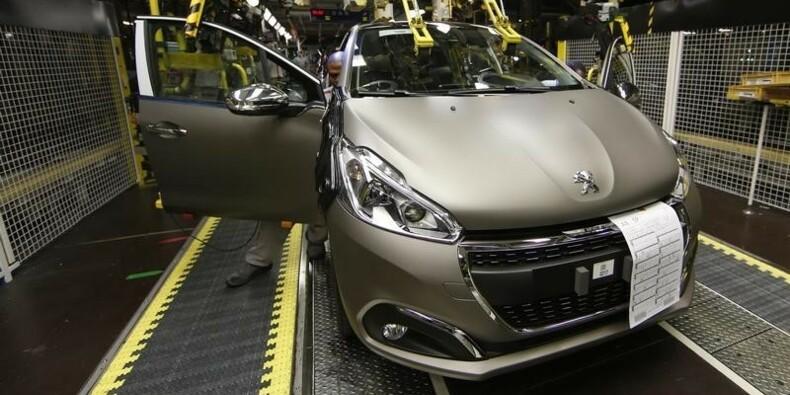 Un SUV compact produit en 2018 dans l'usine PSA de Mulhouse