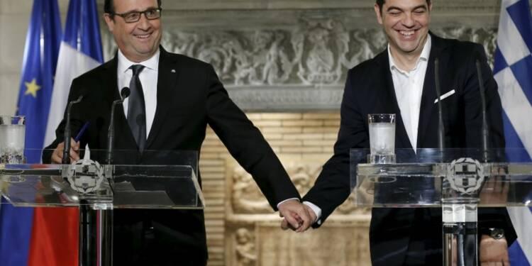 La question du Grexit est derrière nous, dit François Hollande