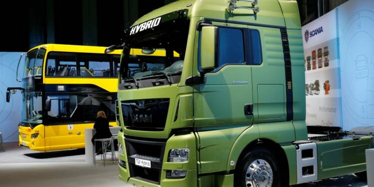 Volkswagen rapproche ses divisions poids lourds