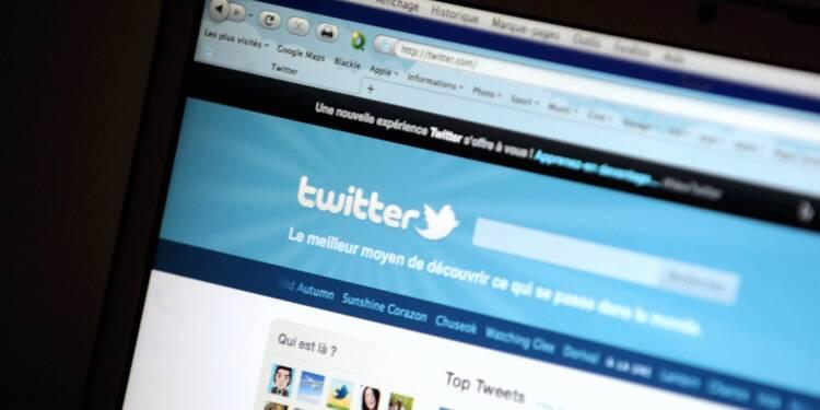 Twitter peine à recruter de nouveaux membres et dégringole en Bourse