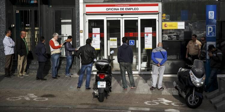 Le nombre de chômeurs en Espagne baisse de 2,7% en avril