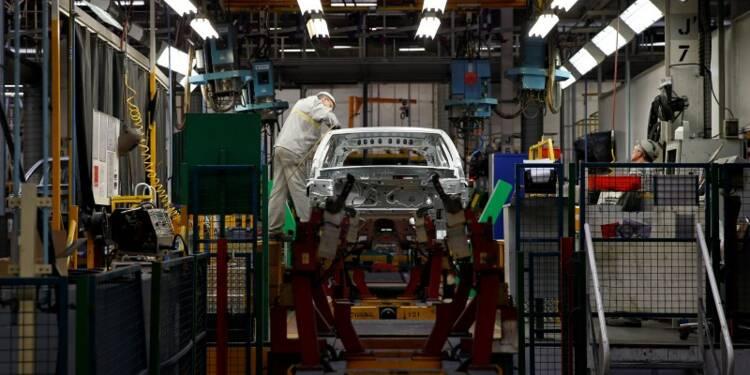 Faible contraction de l'activité manufacturière en France
