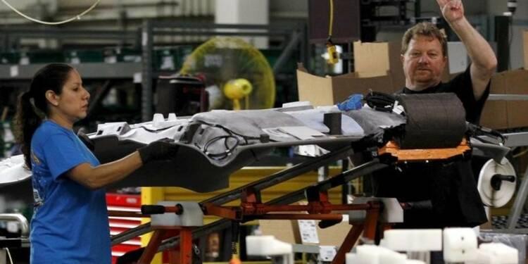 Ralentissement inattendu du secteur manufacturier américain