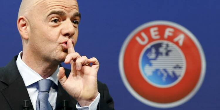 L'UEFA soutient la candidature d'Infantino à la tête de la FIFA