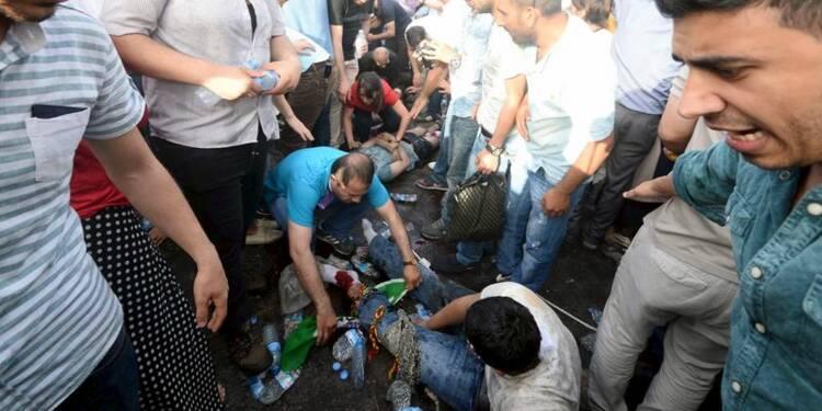 Explosions lors d'un meeting de l'opposition turque, 2 tués