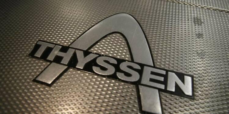 ThyssenKrupp a dépassé son objectif d'économies