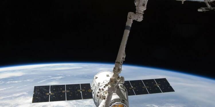 Une capsule Dragon de SpaceX de retour sur Terre
