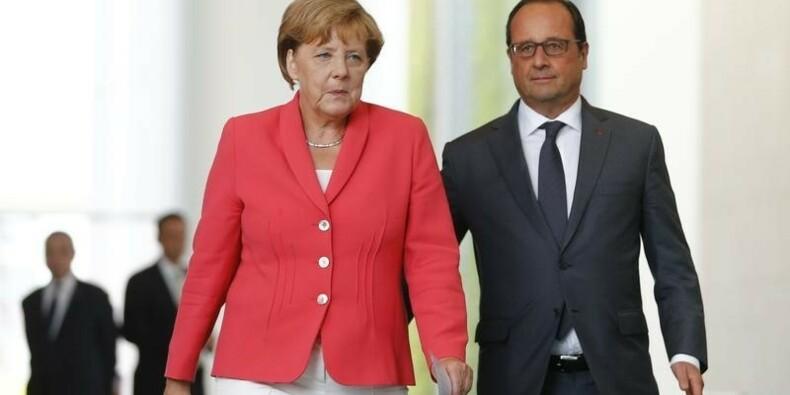 La crise des migrants va durer, préviennent Hollande et Merkel
