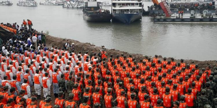 Le bilan du naufrage sur le Yangtsé atteint désormais 431 morts